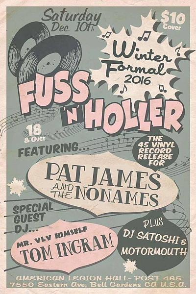 fuss n holler, rockabilly show, 12-10-16