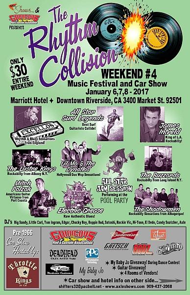 rockabilly show, weekender, 1.06-16 to 1.08-16