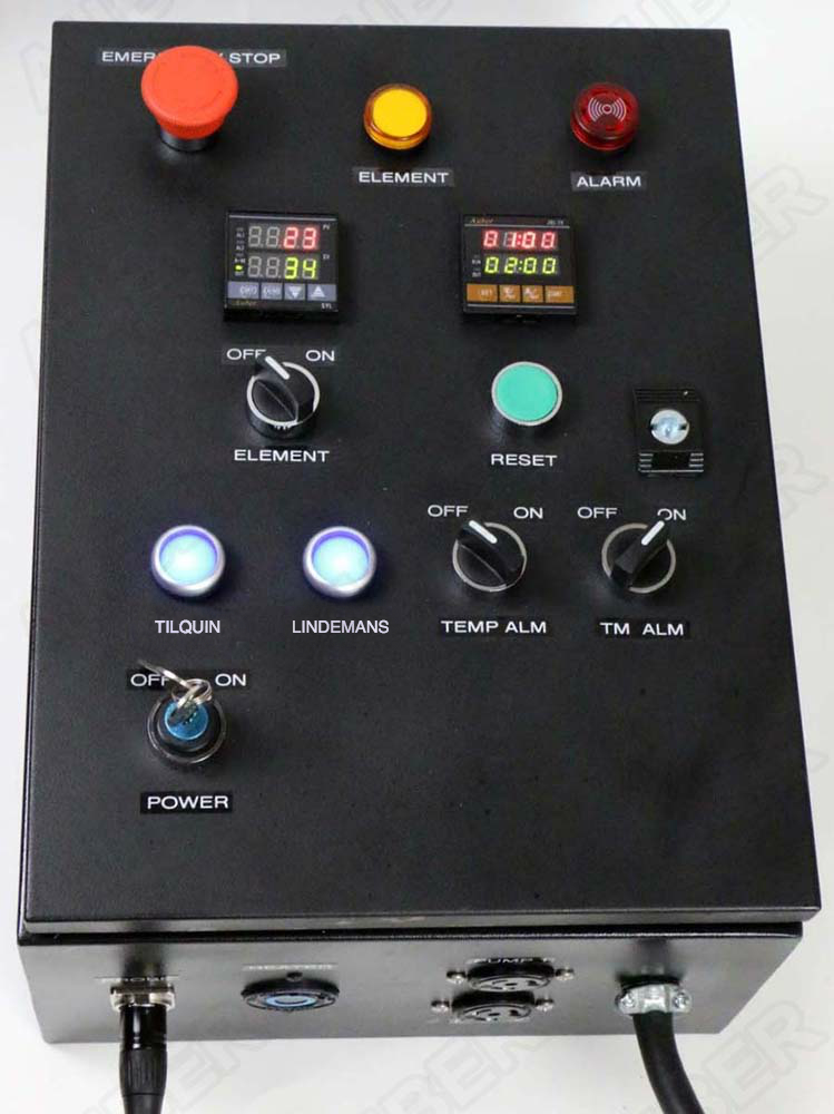 SpontanAir enabled control panel