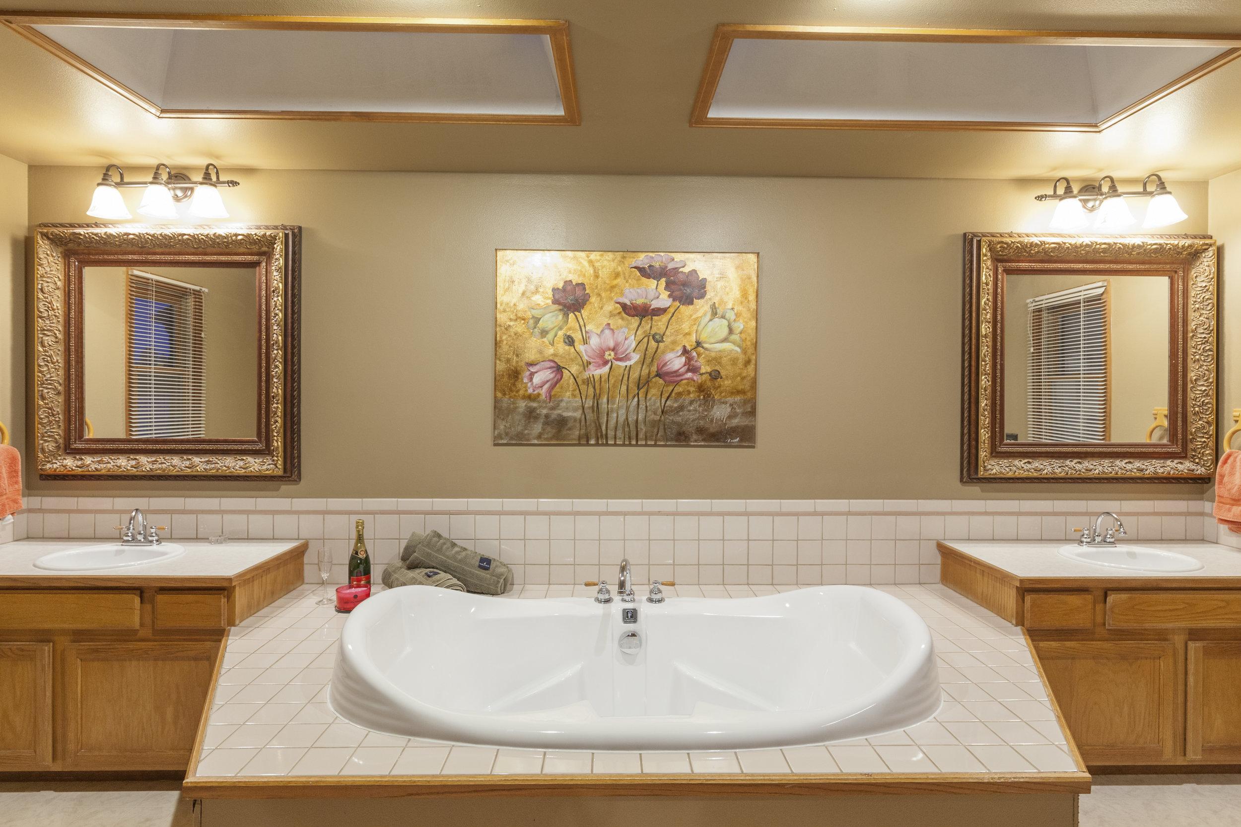 Huge Master Bath