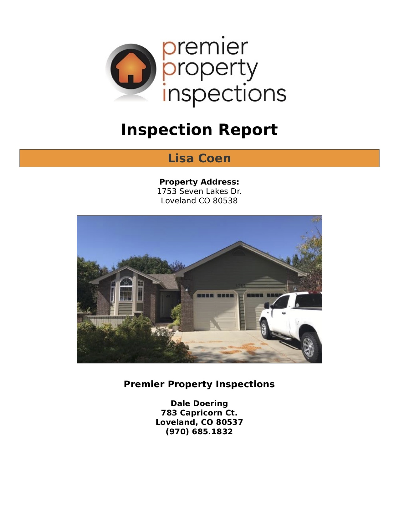 Pre-Inspection -