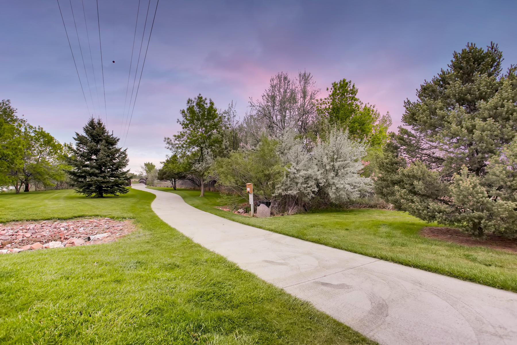 Located Near the Loveland Bike Path