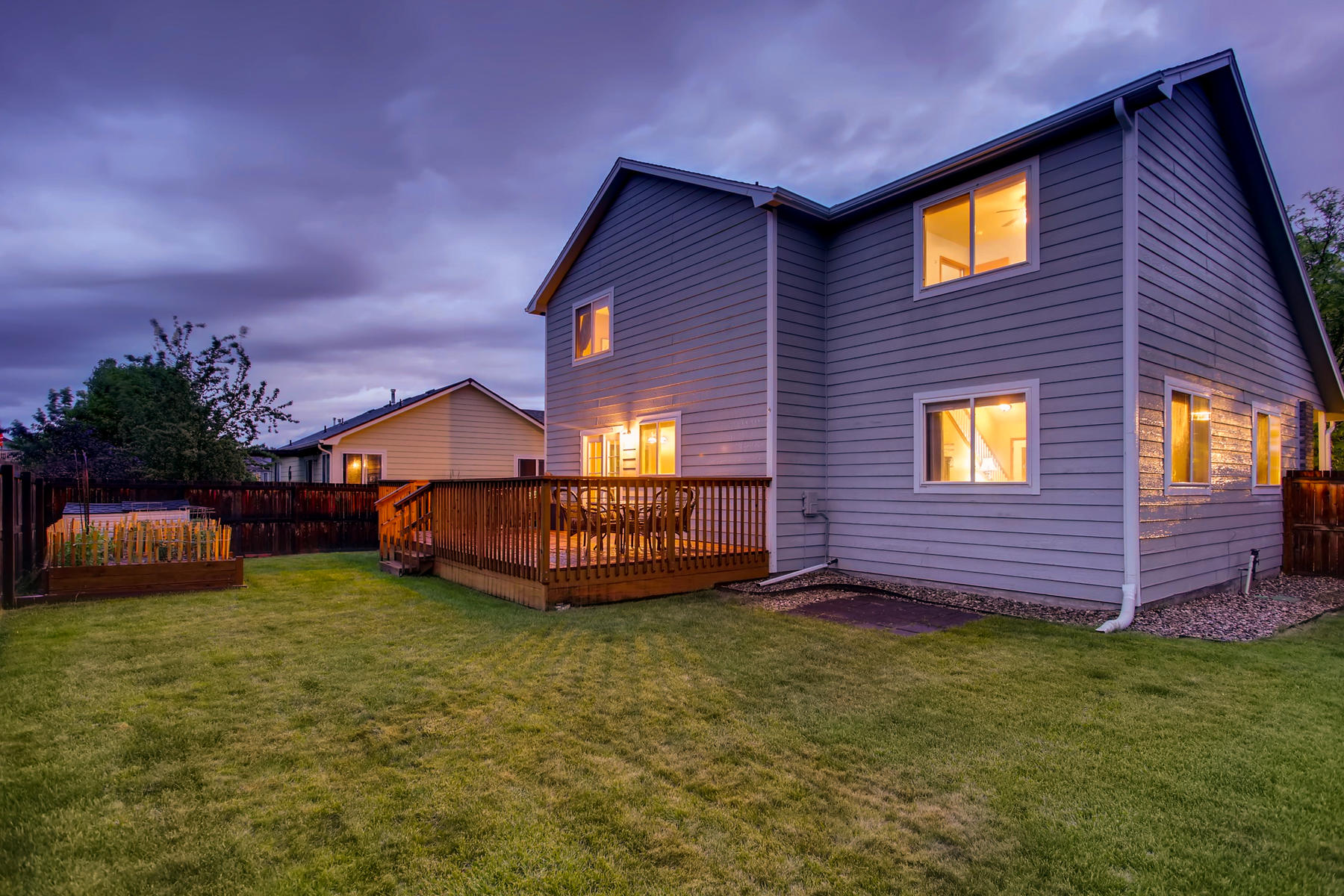 Large Deck & Move-In Ready Landscaping