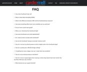 Cardiowell FAQ