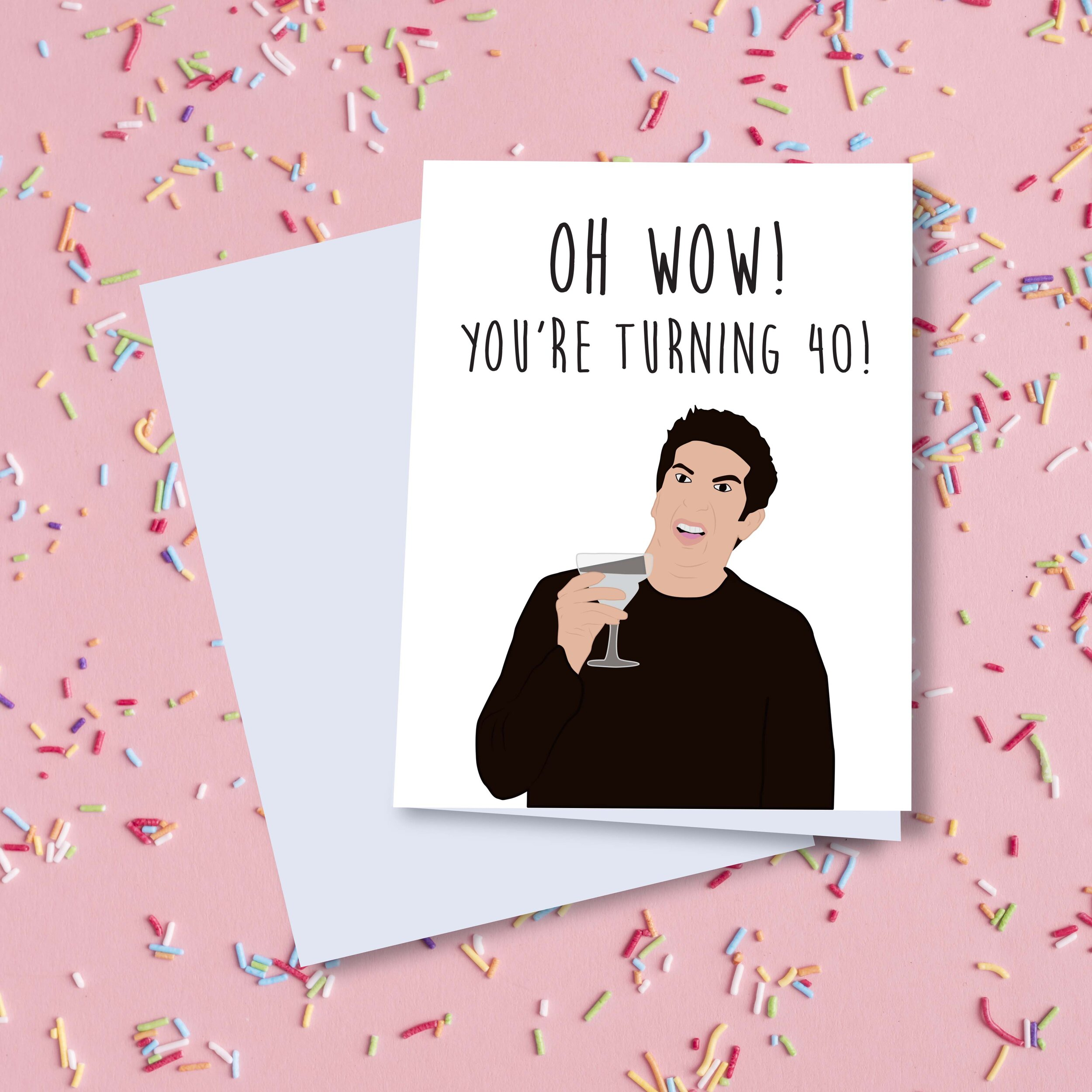 It's just an image of Universal Printable 40th Birthday Cards