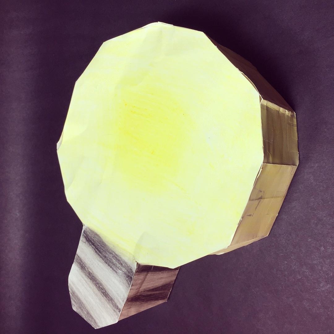 The idea? A light bulb of course. How do you make a light bulb? Make a Hendecagon of naturally.