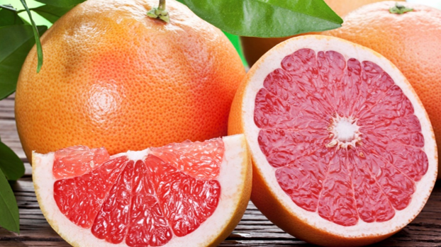 GRAPEFRUIT STAR rUBY and rio red