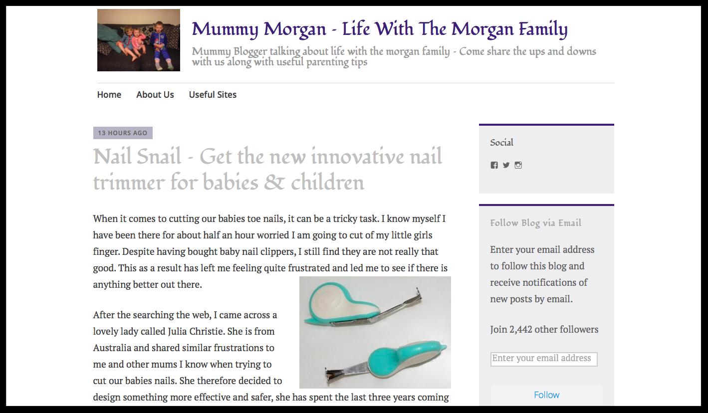 Mommy Morgan Blog