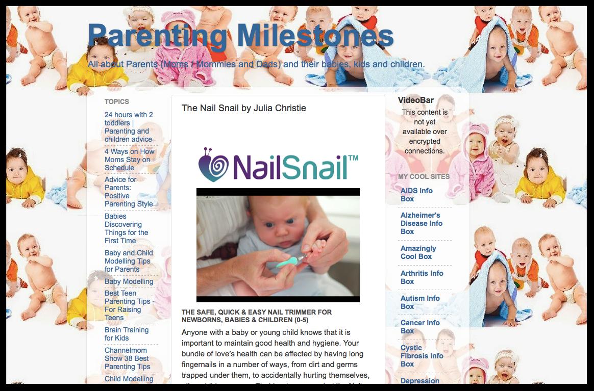 Parenting Milestones Blog