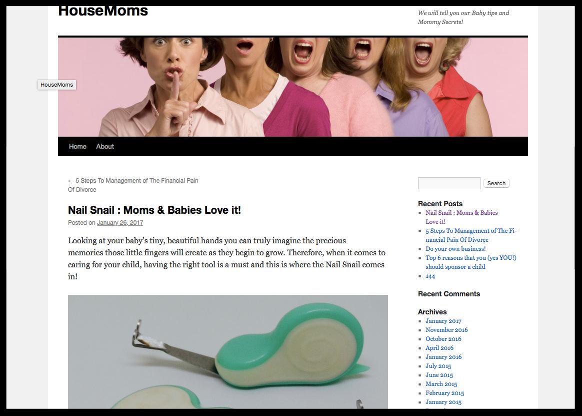 House Moms Blog