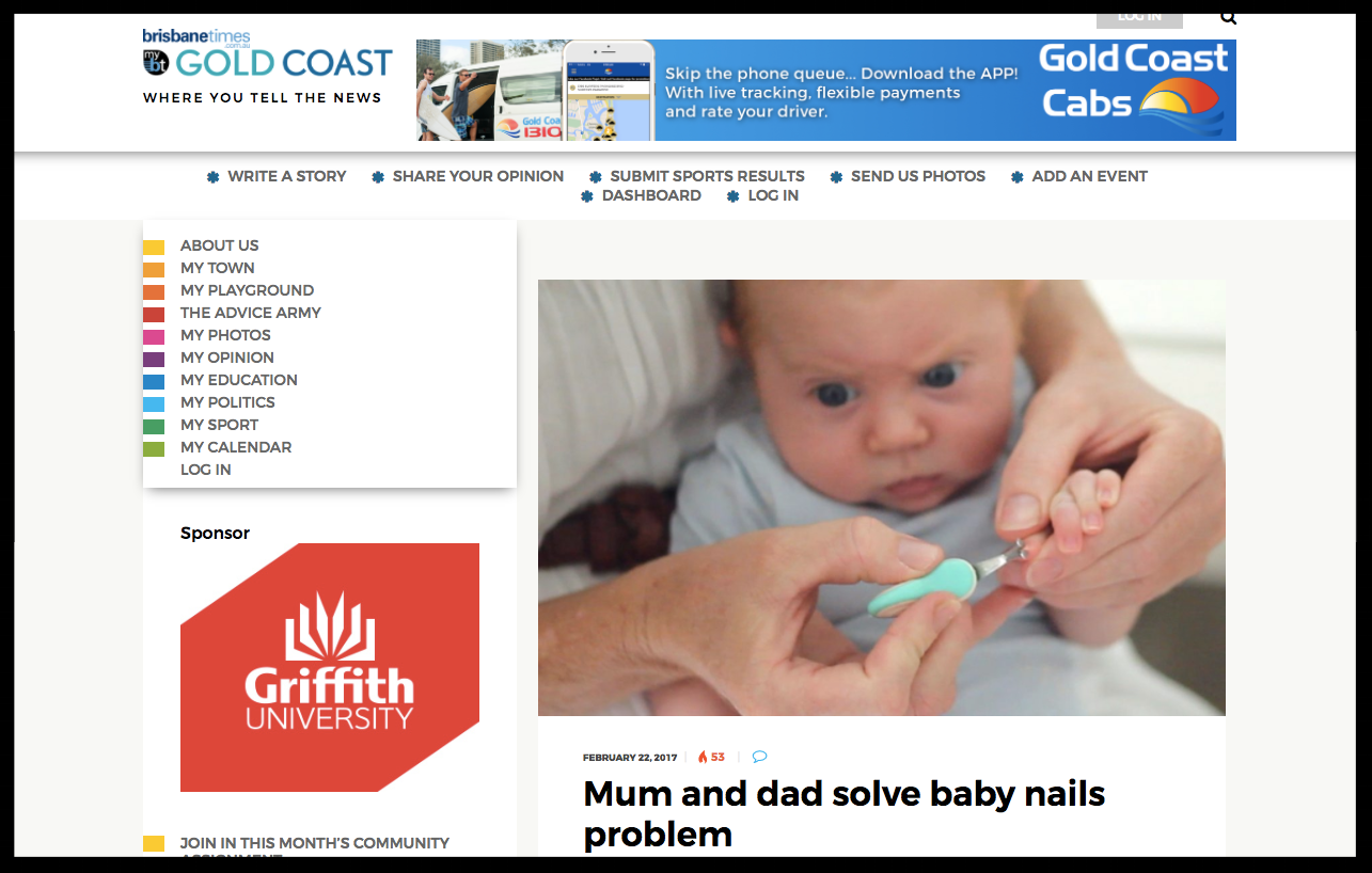 Brisbane Times - Gold Coast