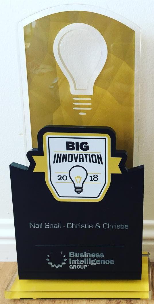 The Nail Snail Big Innovation Award 2018