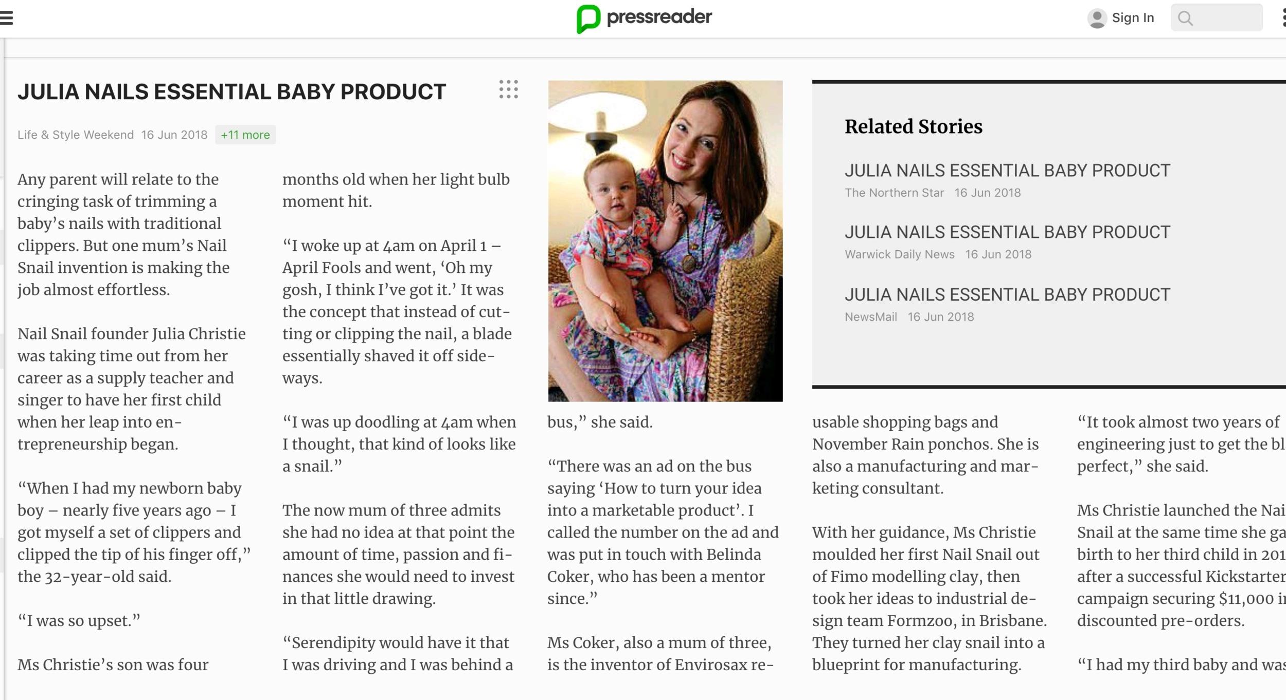 Press Reader Website
