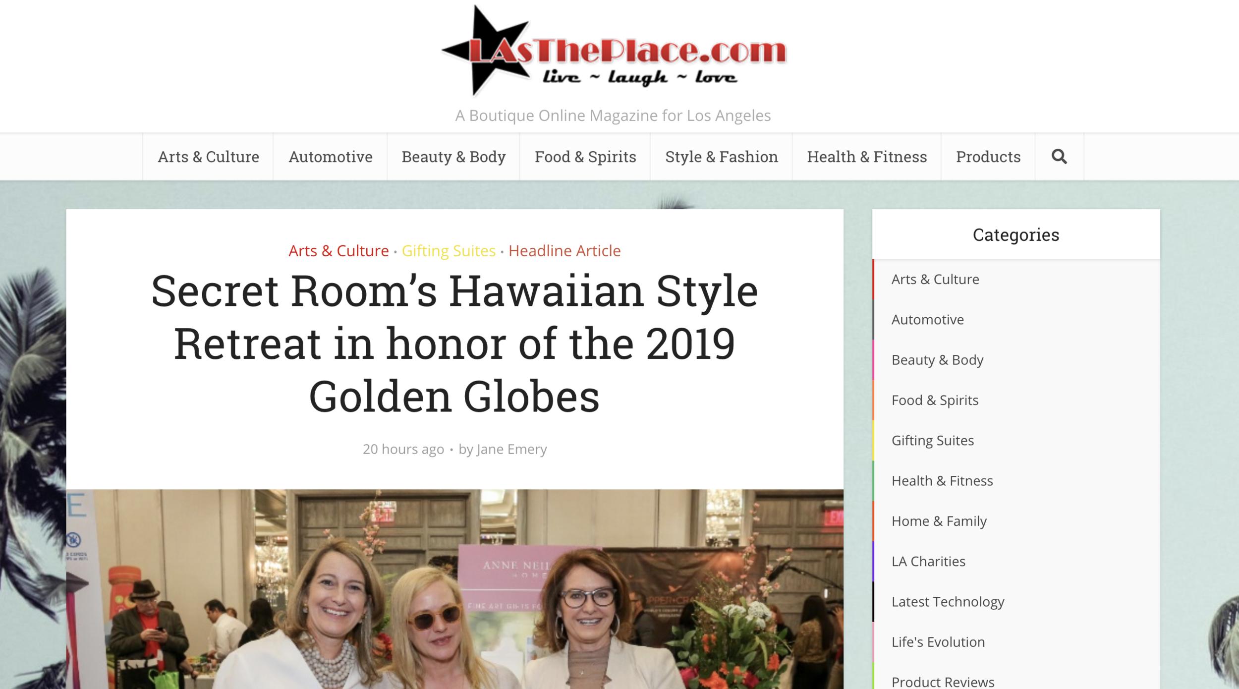 LAs The Place - Golden Globes
