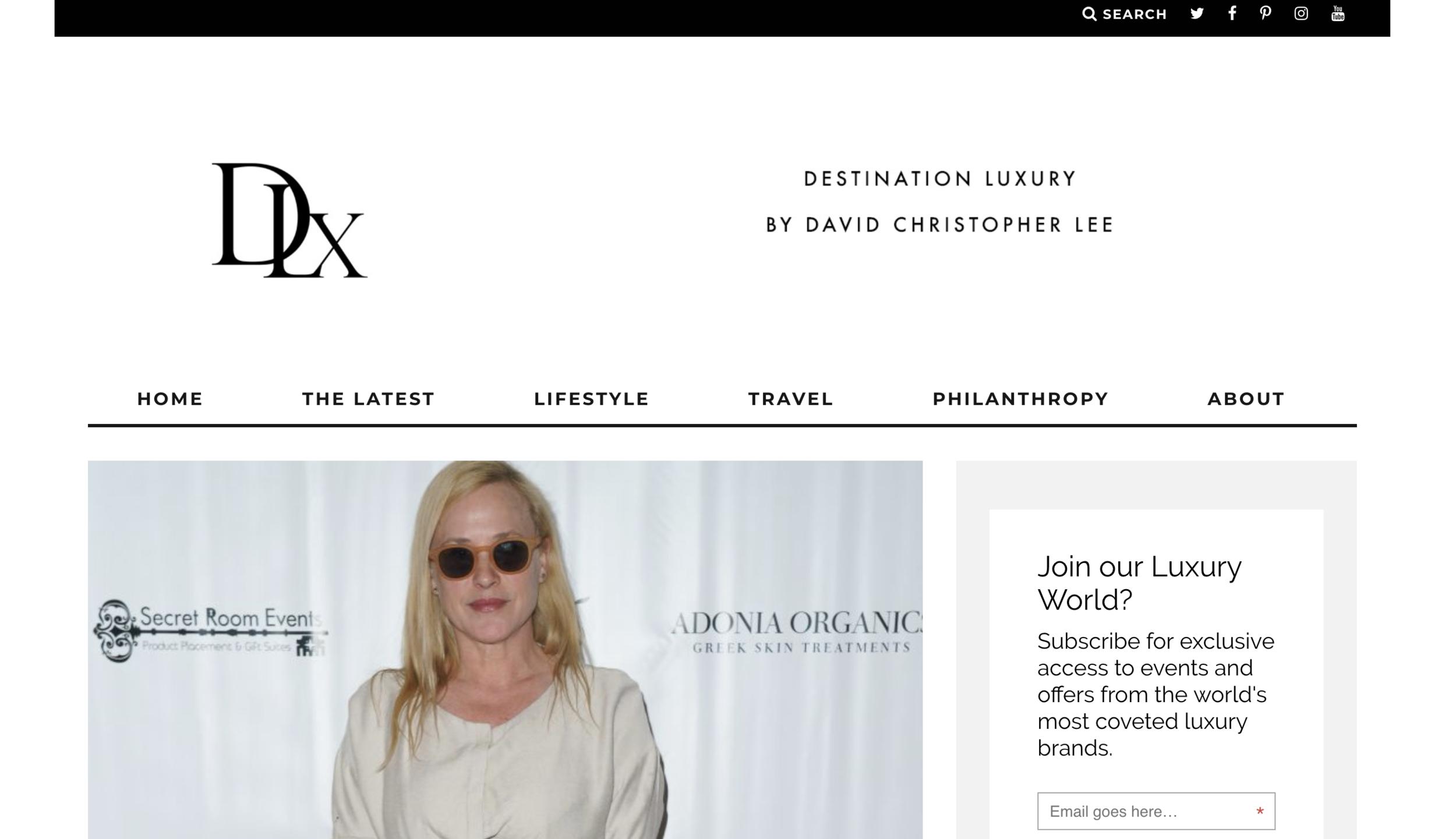 Destination Luxury - Golden Globes
