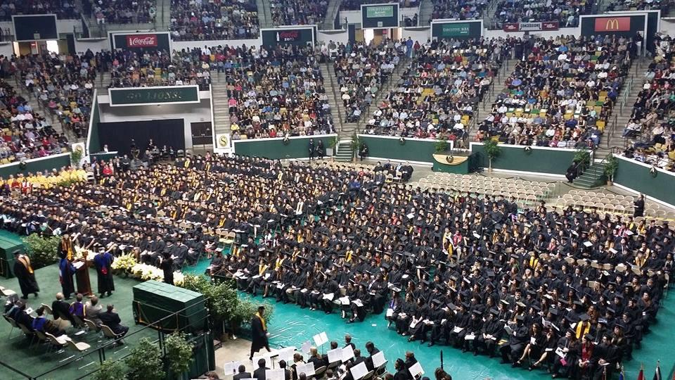 Southeastern Louisiana University Fall Class of 2014.Photo by Jackie Miller-Wilson.