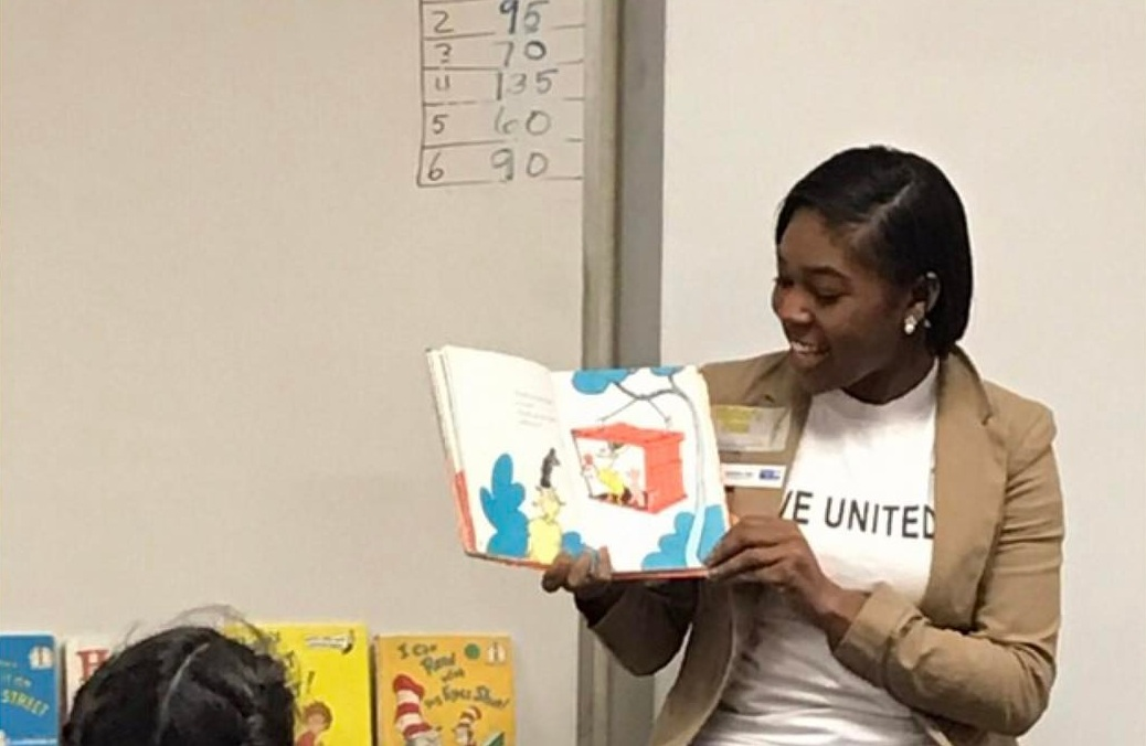 Read Across America celebrates Dr. Seuss Birthday each year spreading awareness for early childhood education and encouraging children and families to read. I'm pictured above reading to students in San Bernardino County.