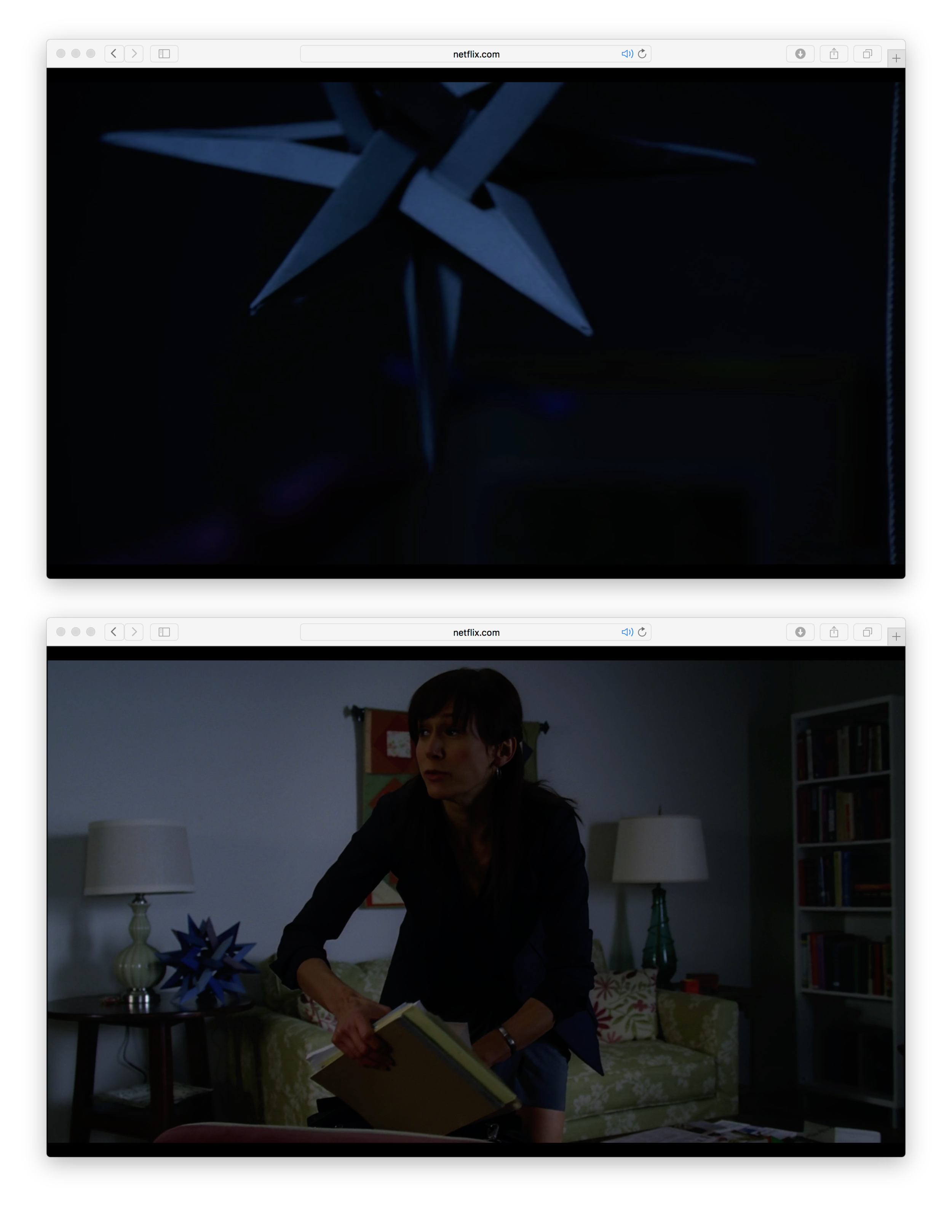 Screenshots from House MD