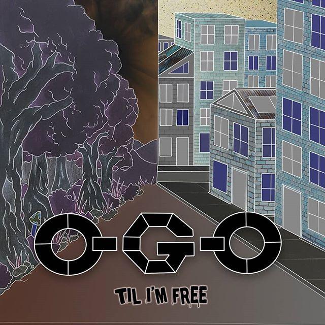 Designed the one and only O-G-O's E.P cover art for 'Til I'm Free' (2017) @velvetsandmusic @ogo.vs