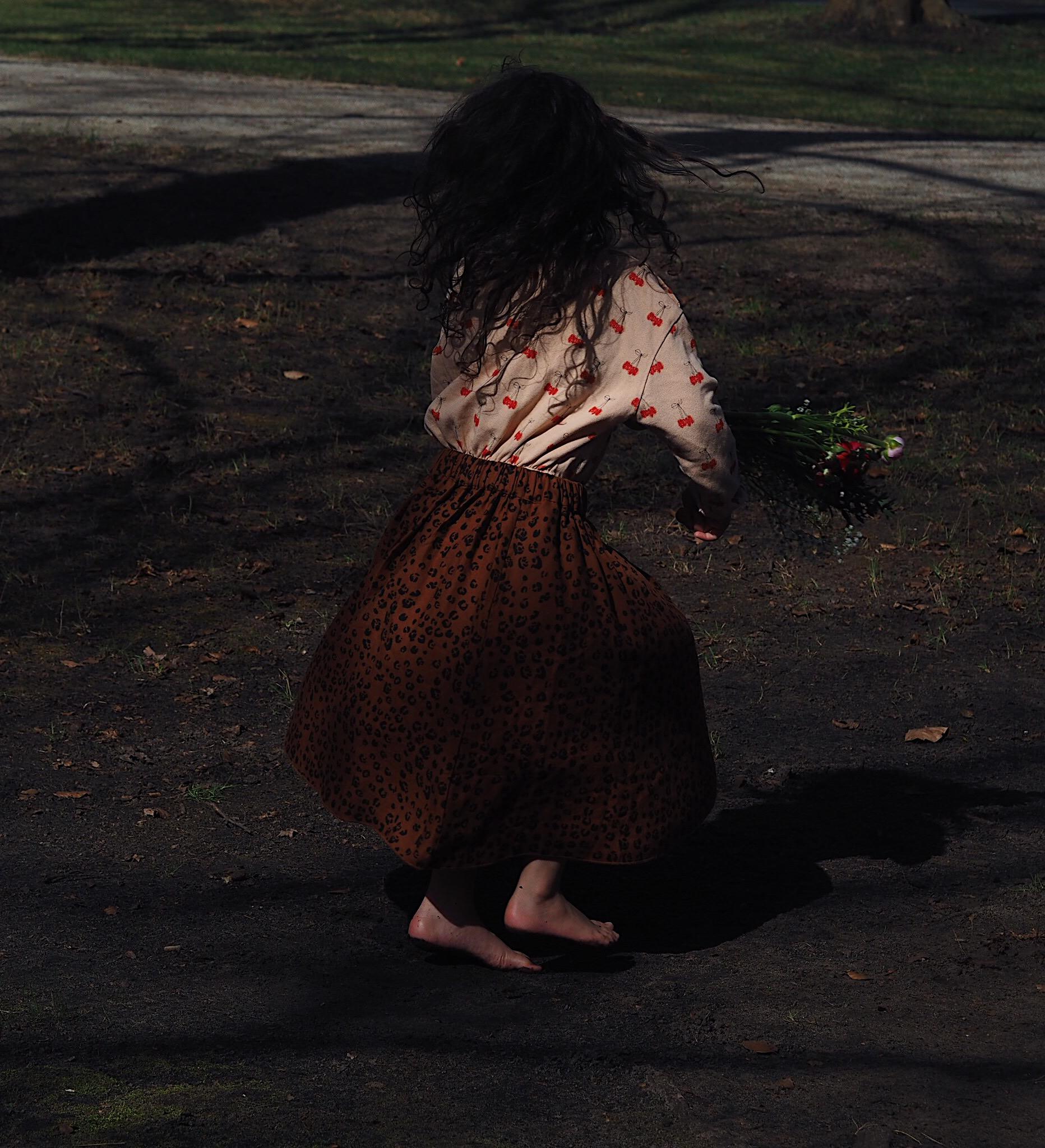 Skirt midi Hun me down