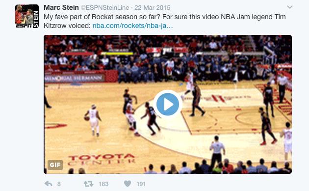 Rockets Jam - Stein