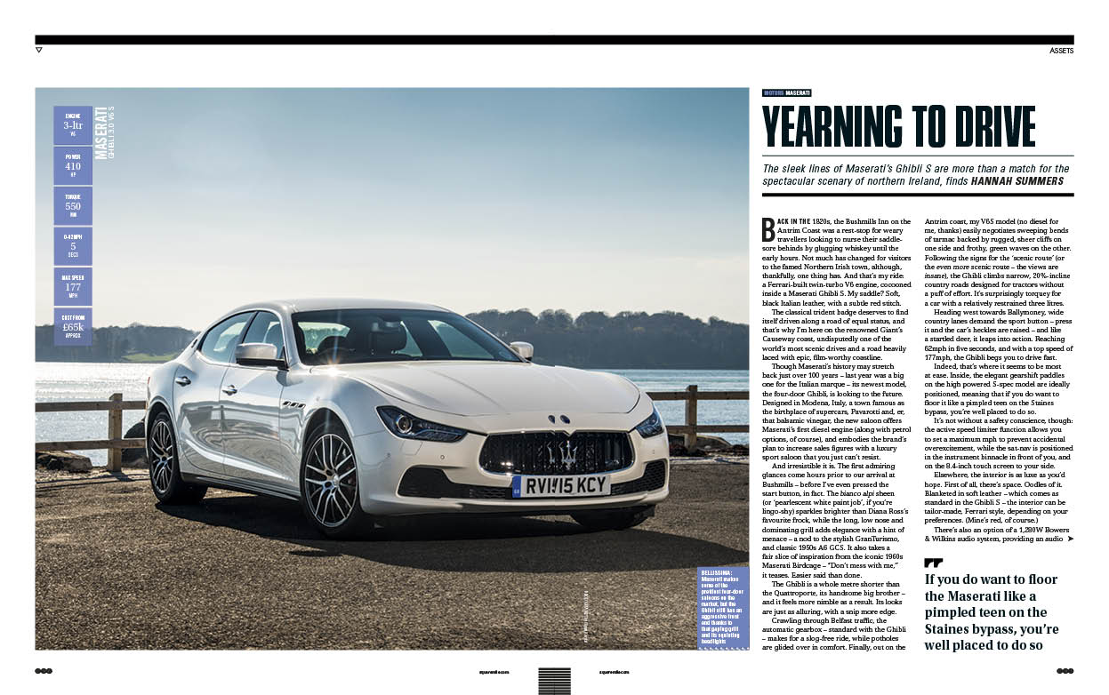 Motors | Square Mile | Maserati Ghibli