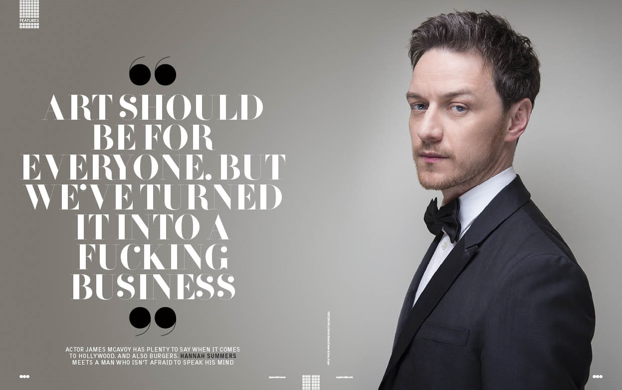 Interview | Square Mile | James McAvoy