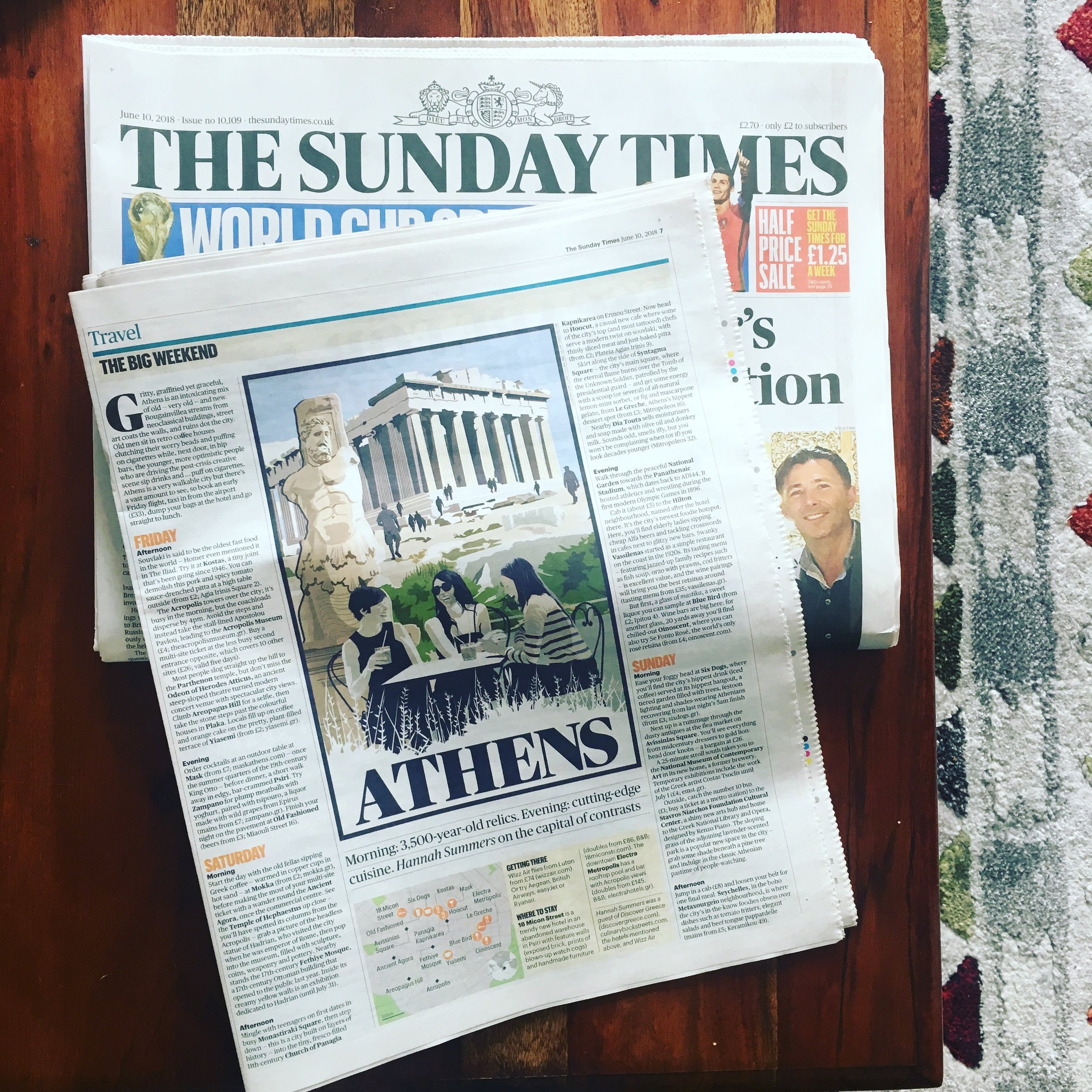 Travel | The Sunday Times | Athens