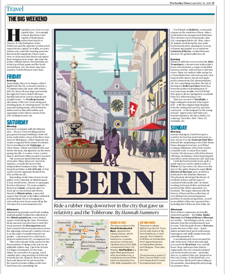 Travel | The Sunday Times | Bern