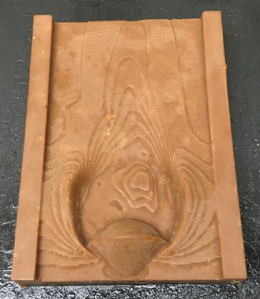 wax model (hollow)