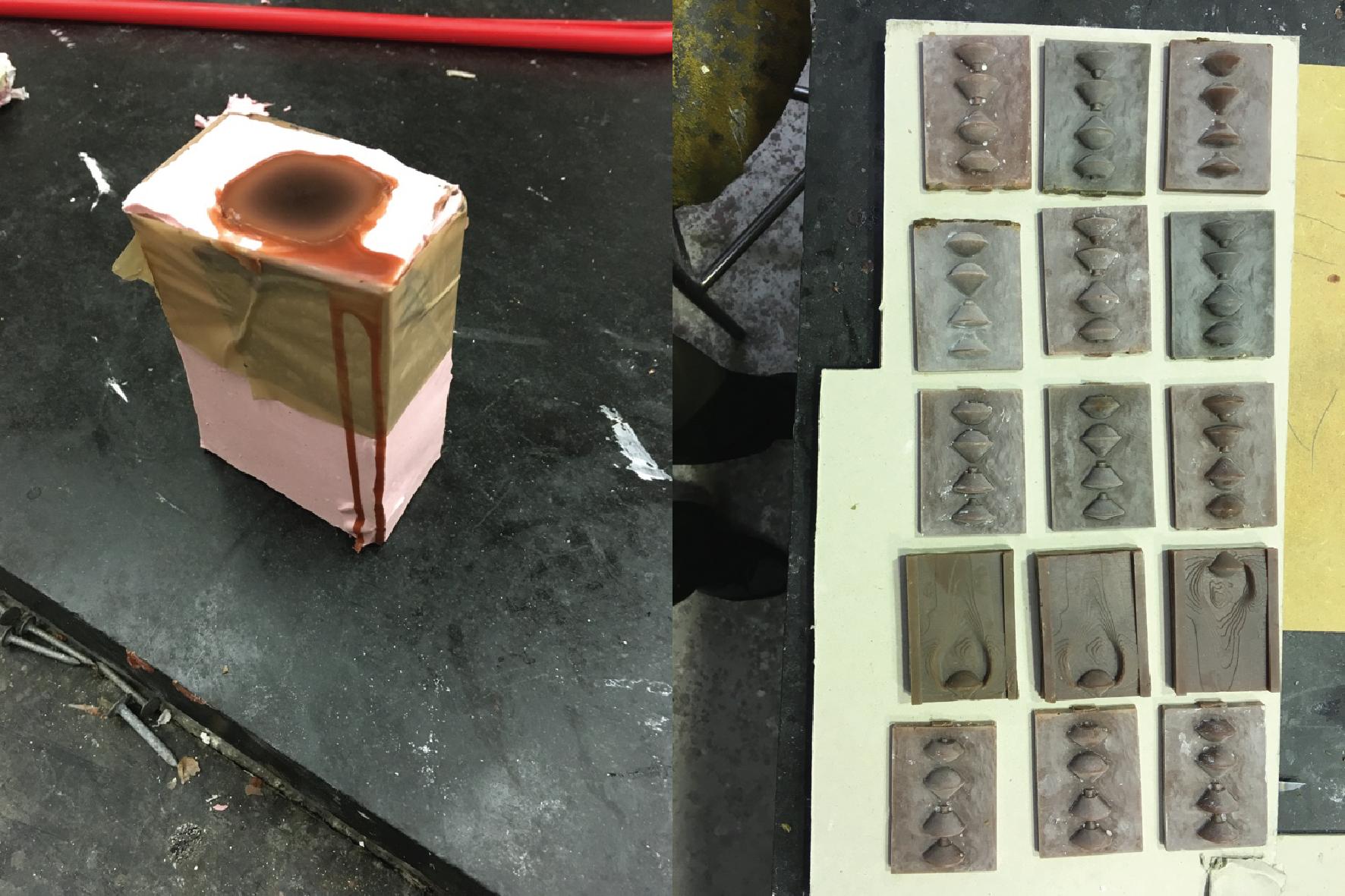 creating wax models