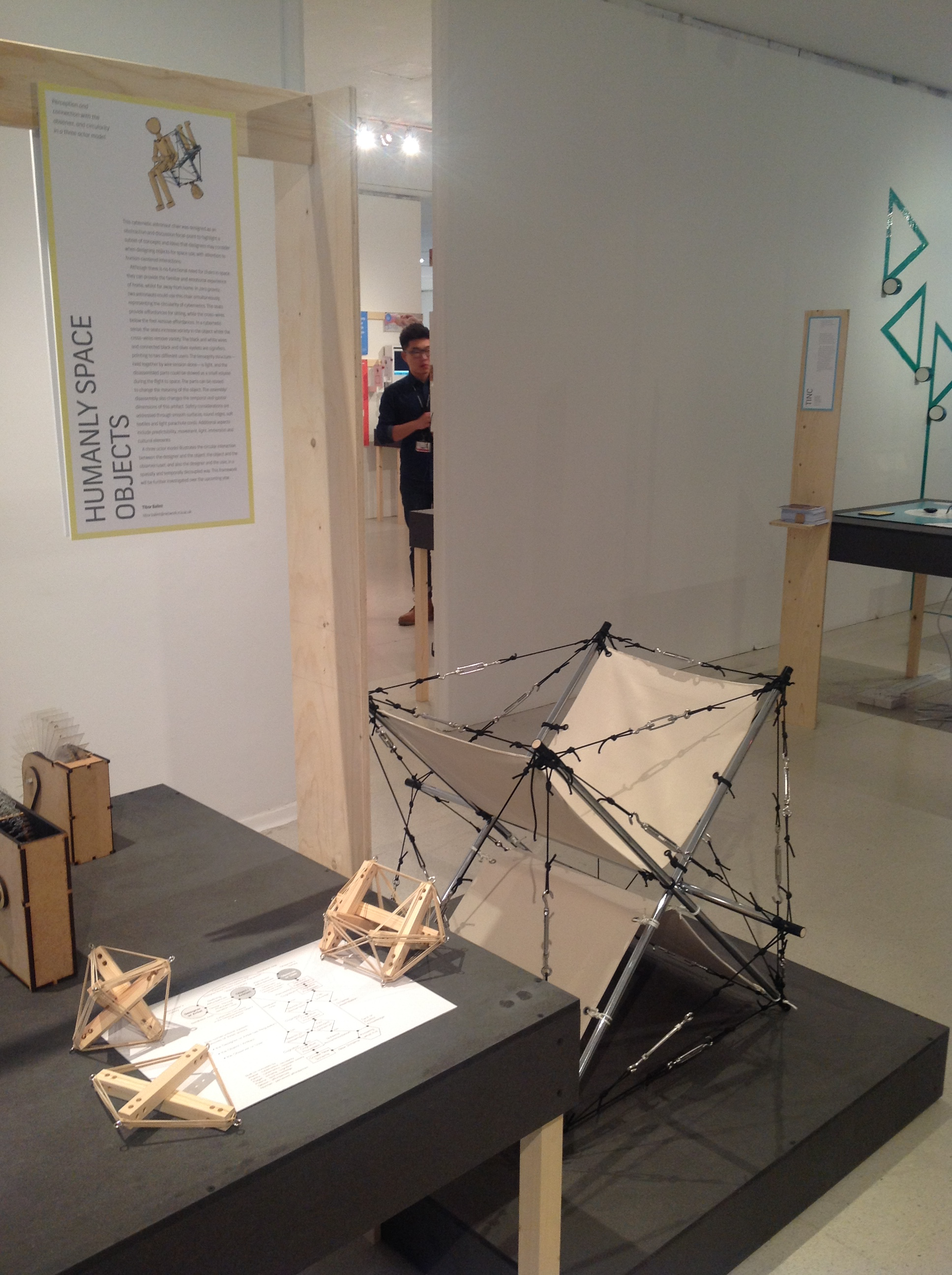 WIP-15 show at RCA