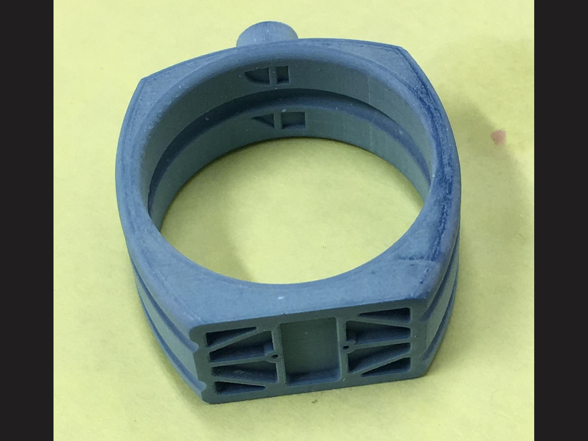 3d printed wax model