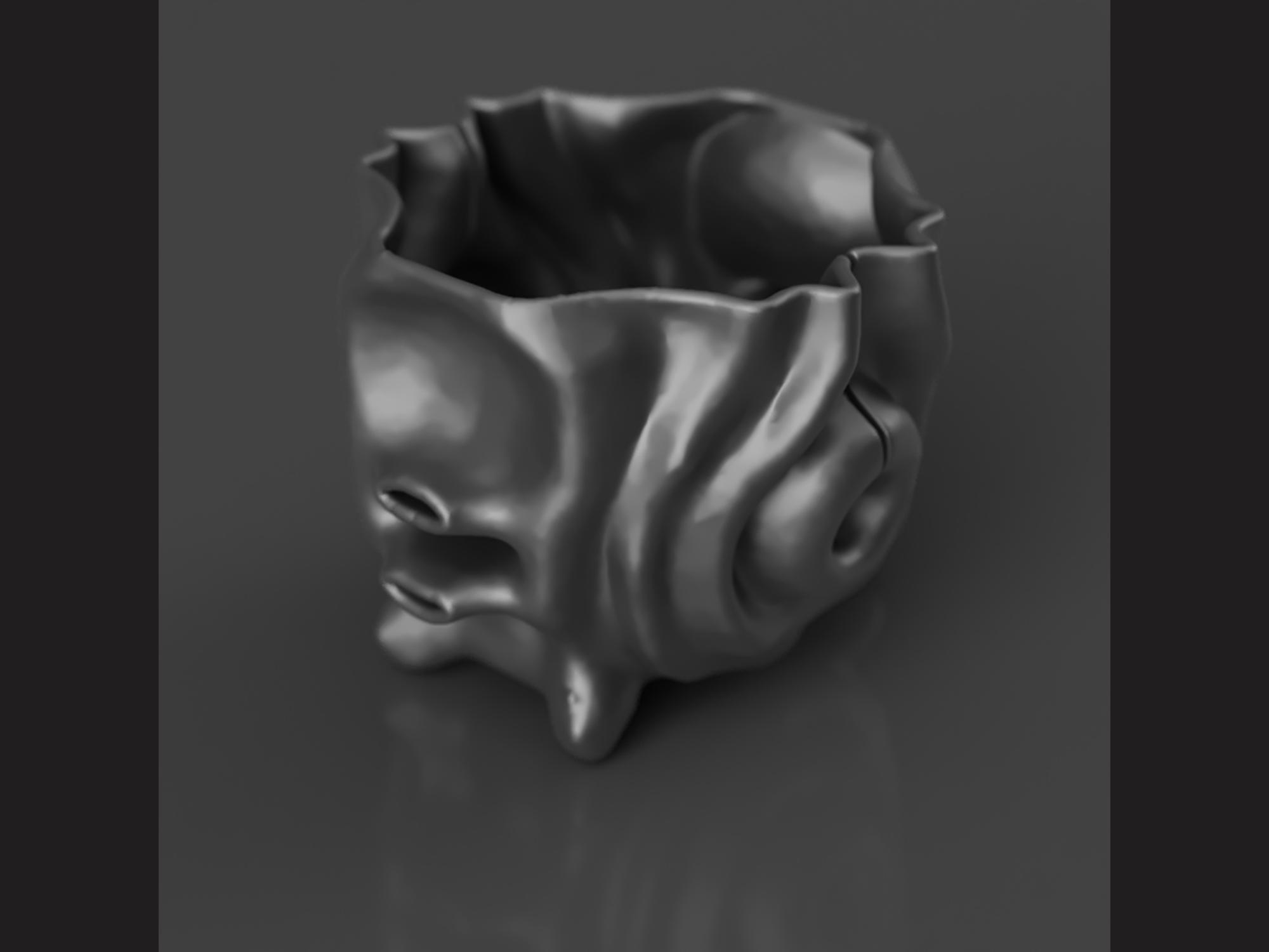 model rendered in Blender3d