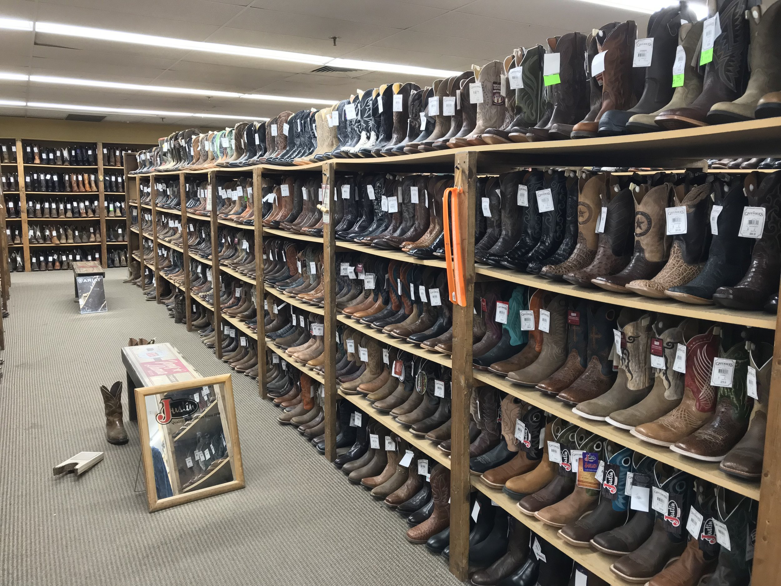Allens Boots, Austin TX