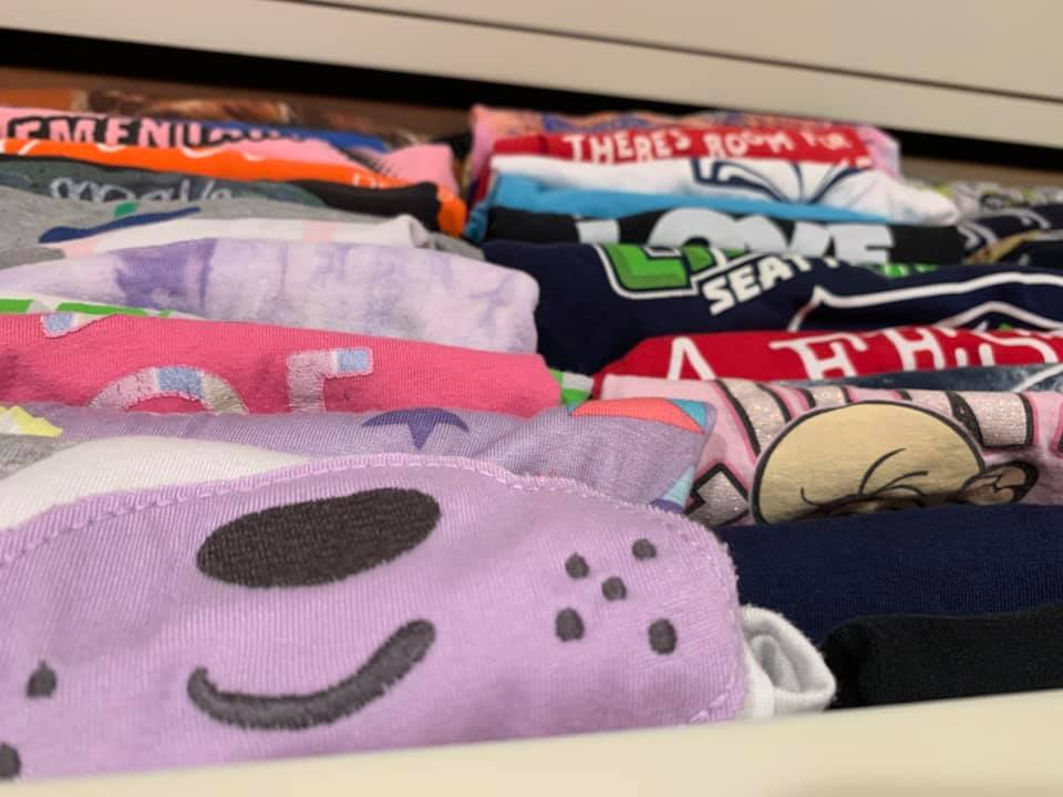 Maybe you did a great job of keeping the laundry going.. - But putting away the laundry is the hard part! Let us do it for you.