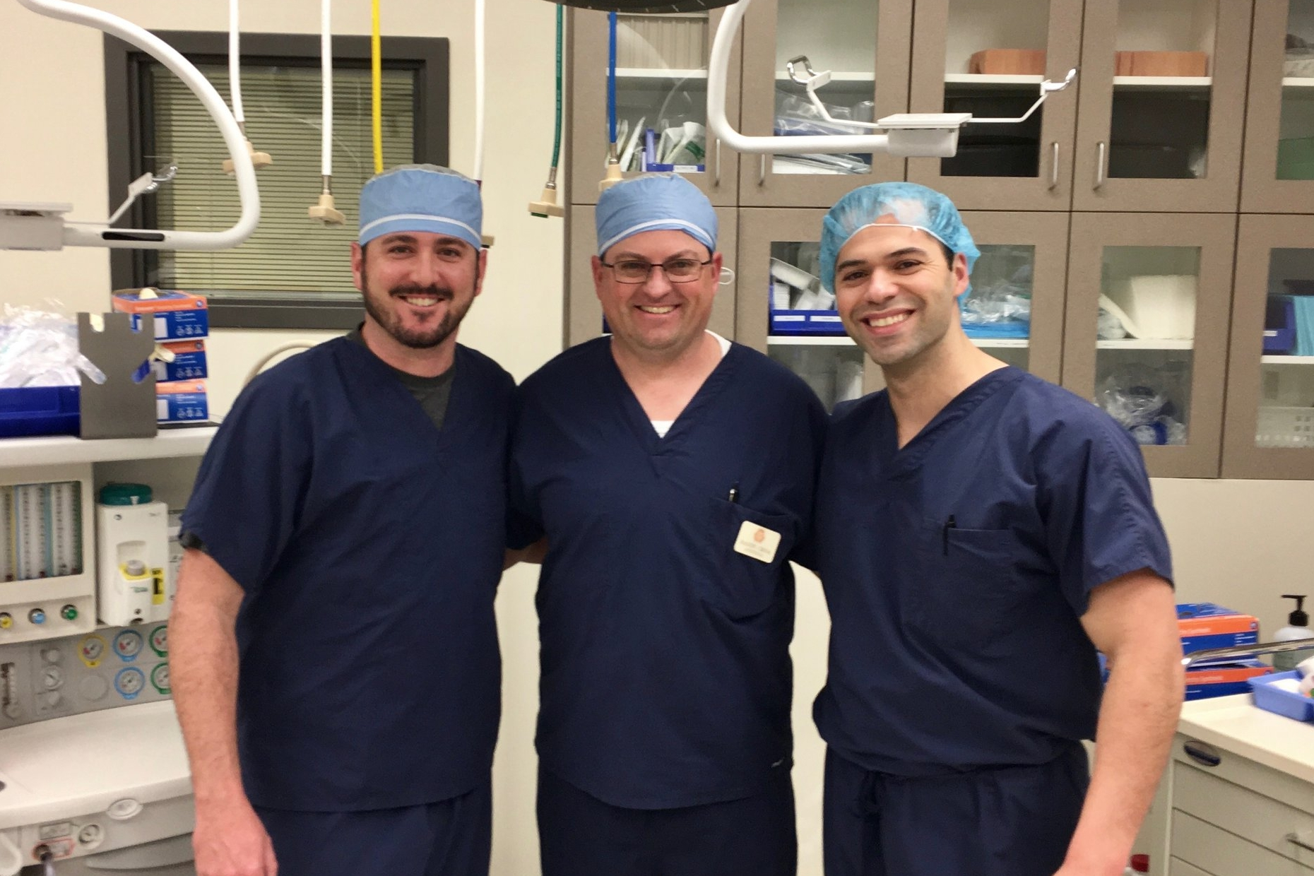 AzAS Partners Ali Baghai, Randy Quinn, and Joe Rodriguez, pictured here at Tri-City Surgery Center in Prescott, Arizona.