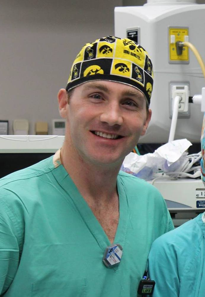 Shaun Ferrie, MSN, CRNA, has been practicing anesthesia in Arizona since 2010, and has been part of the AzAS team since 2015. His assessment of his patient likely avoided a catastrophic injury during surgery.