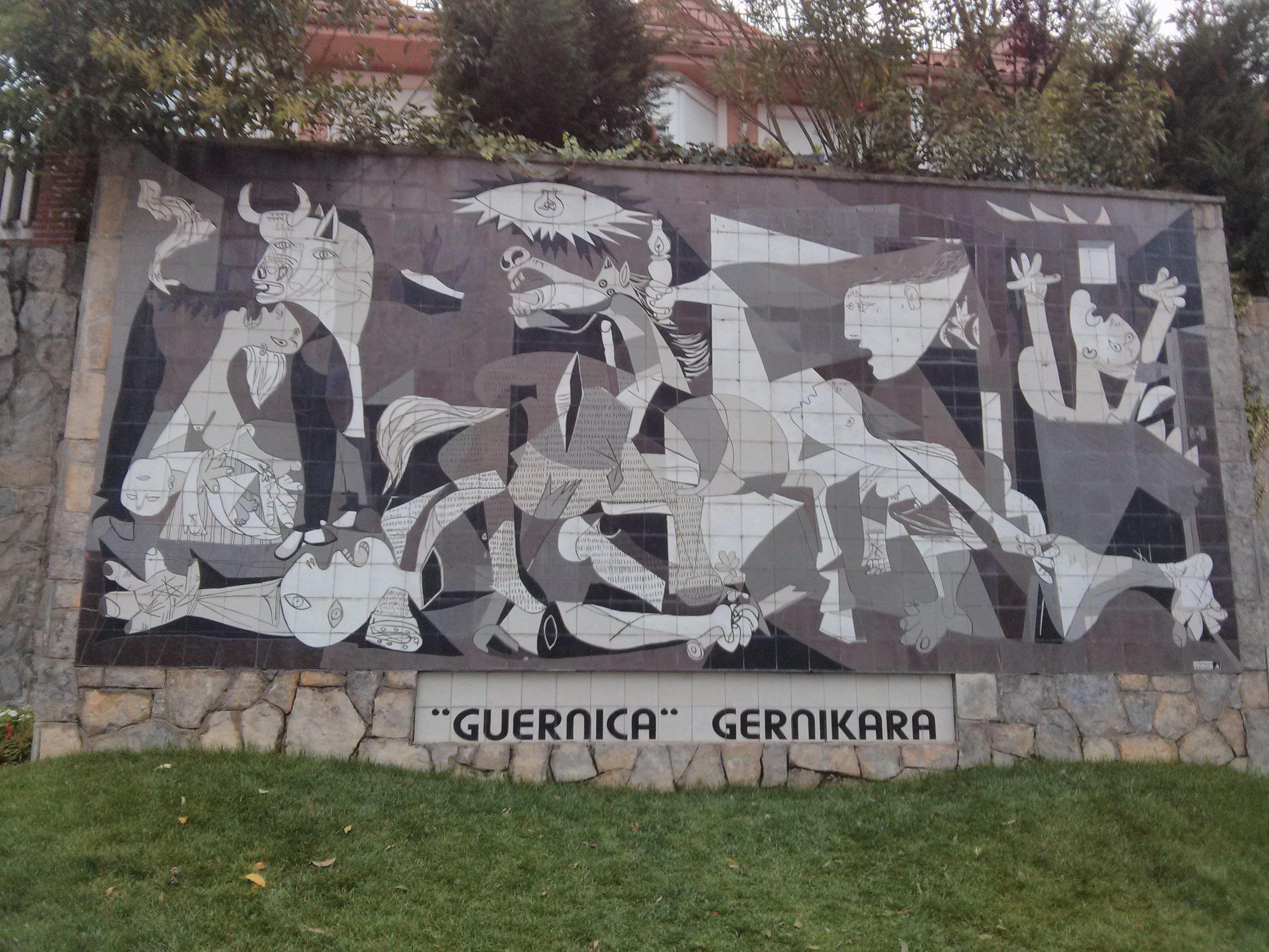 Gernika, Camino Santiago de Compostela, © Anabel Roque Rodriguez
