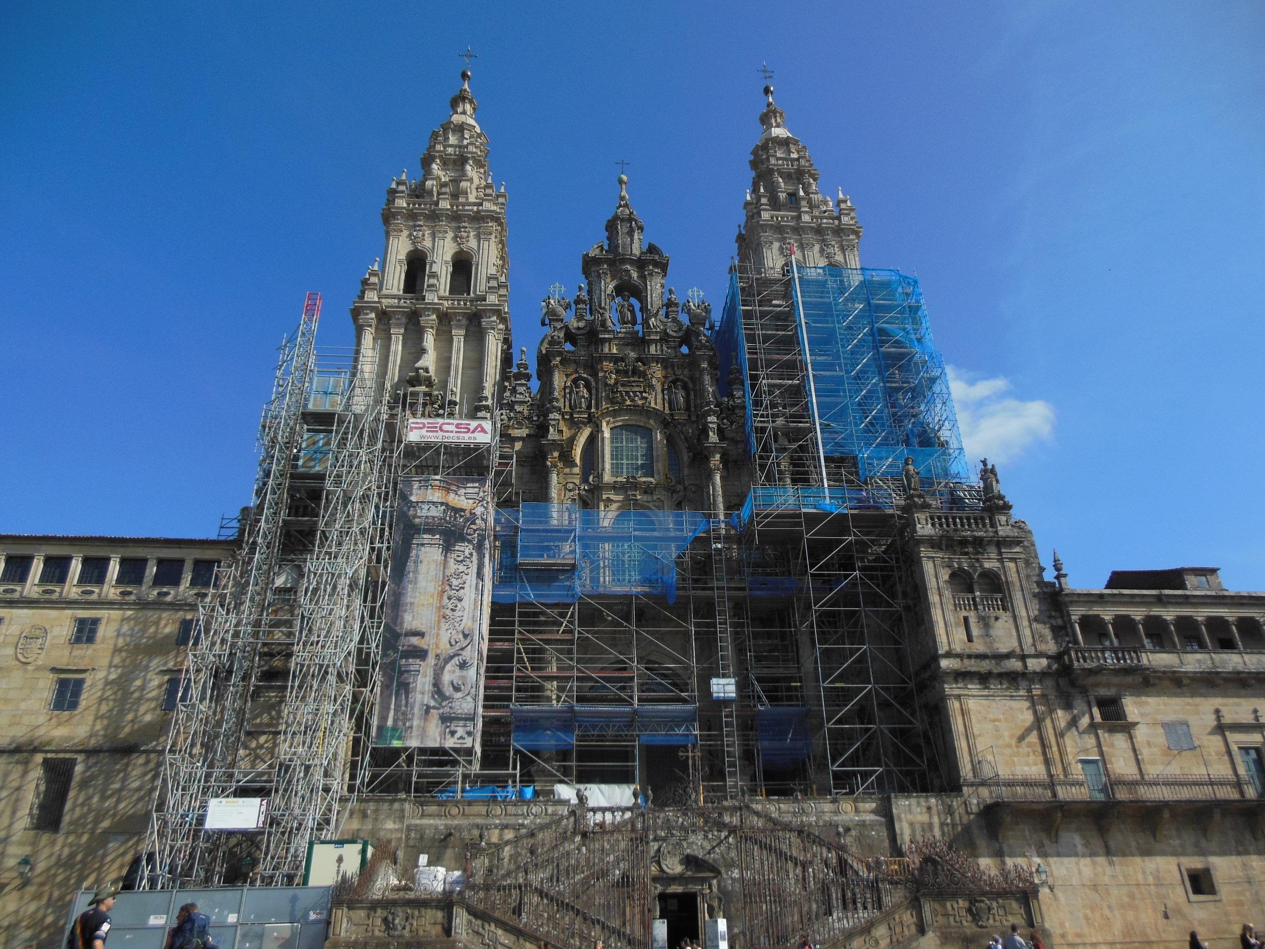 Cathedral Santiago de Compostela, © Anabel Roque Rodriguez