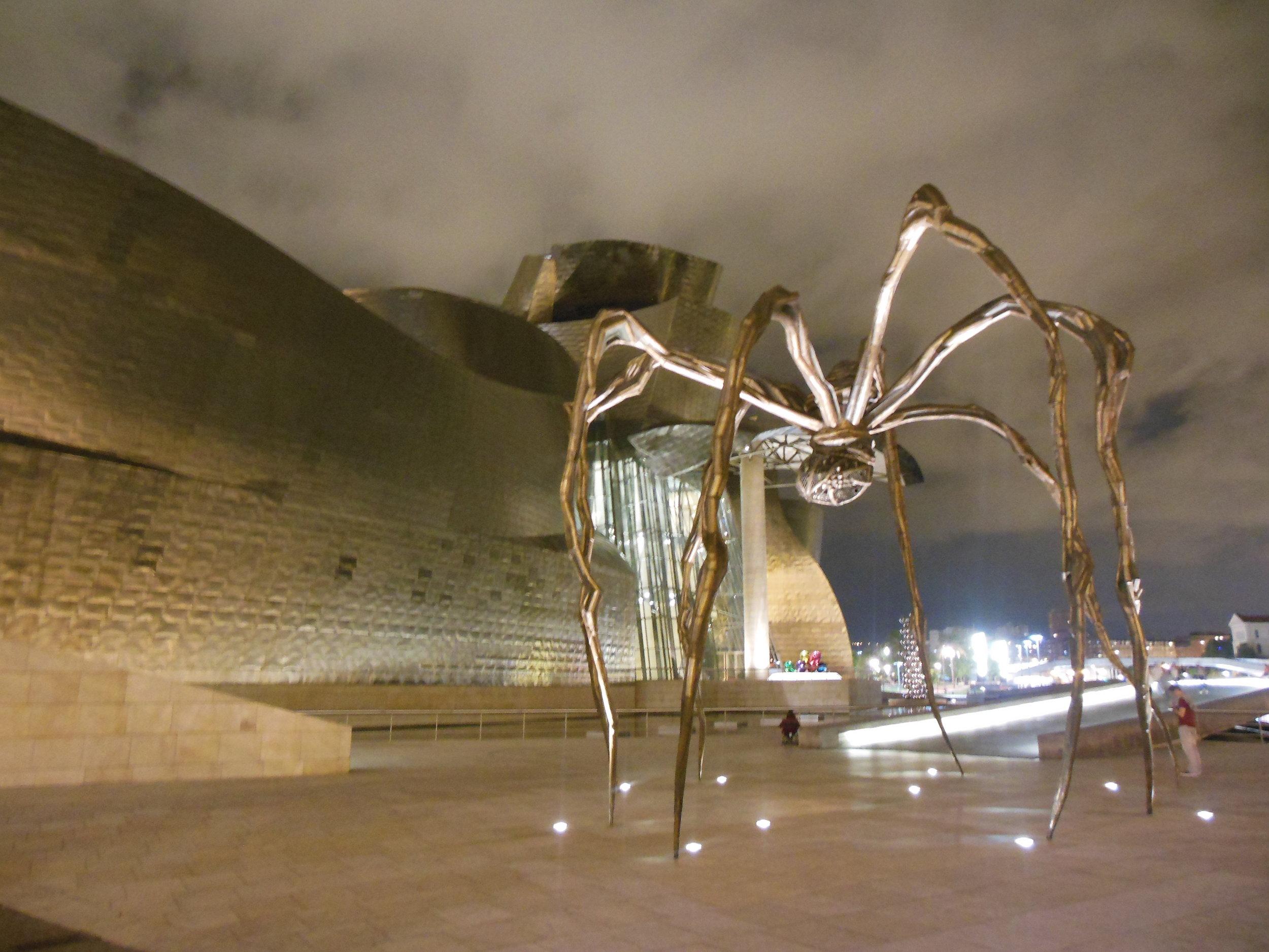 Guggenheim Bilbao, Camino Santiago de Compostela, © Anabel Roque Rodriguez