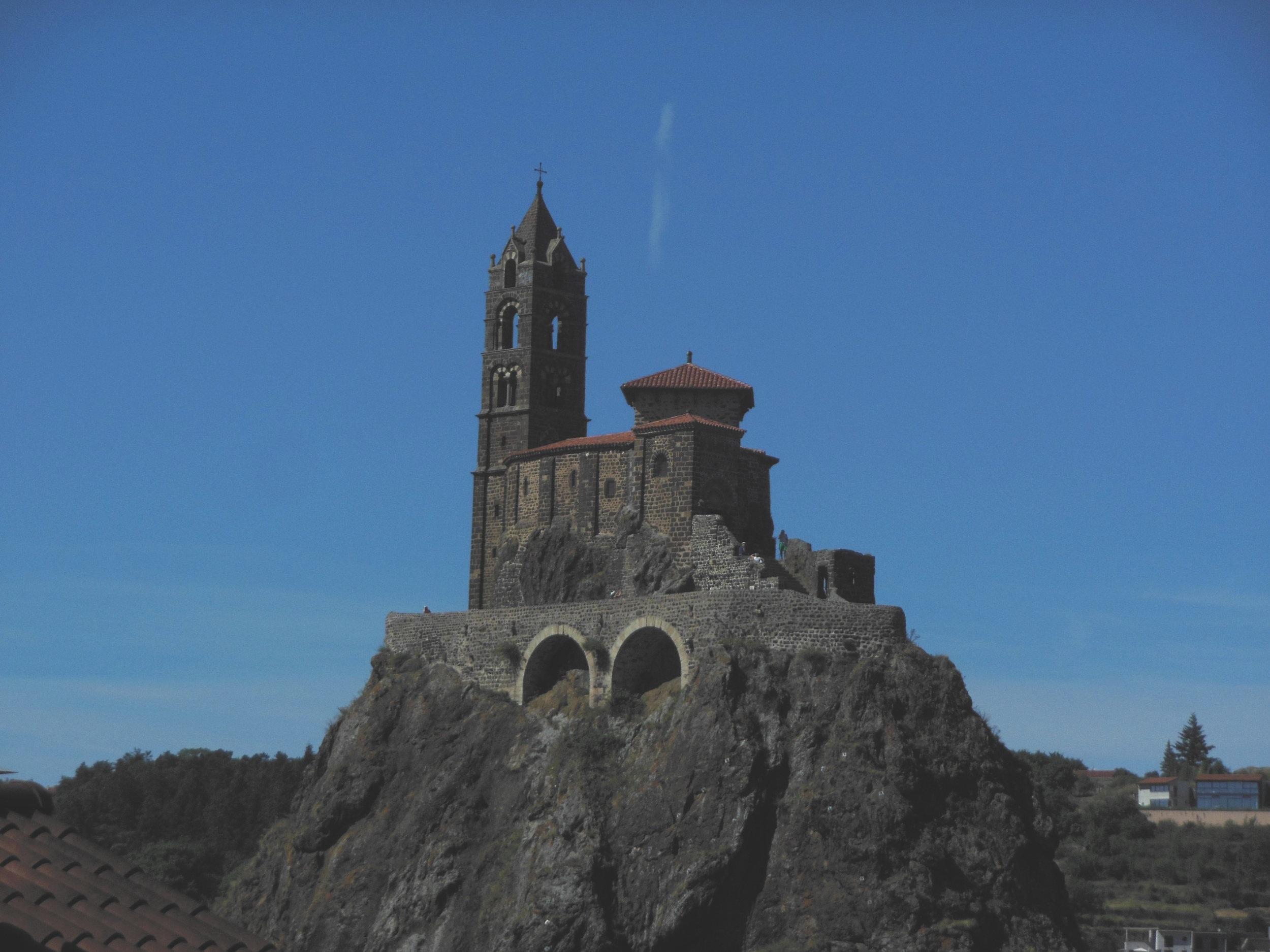 Saint Michel d'Aiguilhe, Camino de Santiago, © Anabel Roque Rodriguez