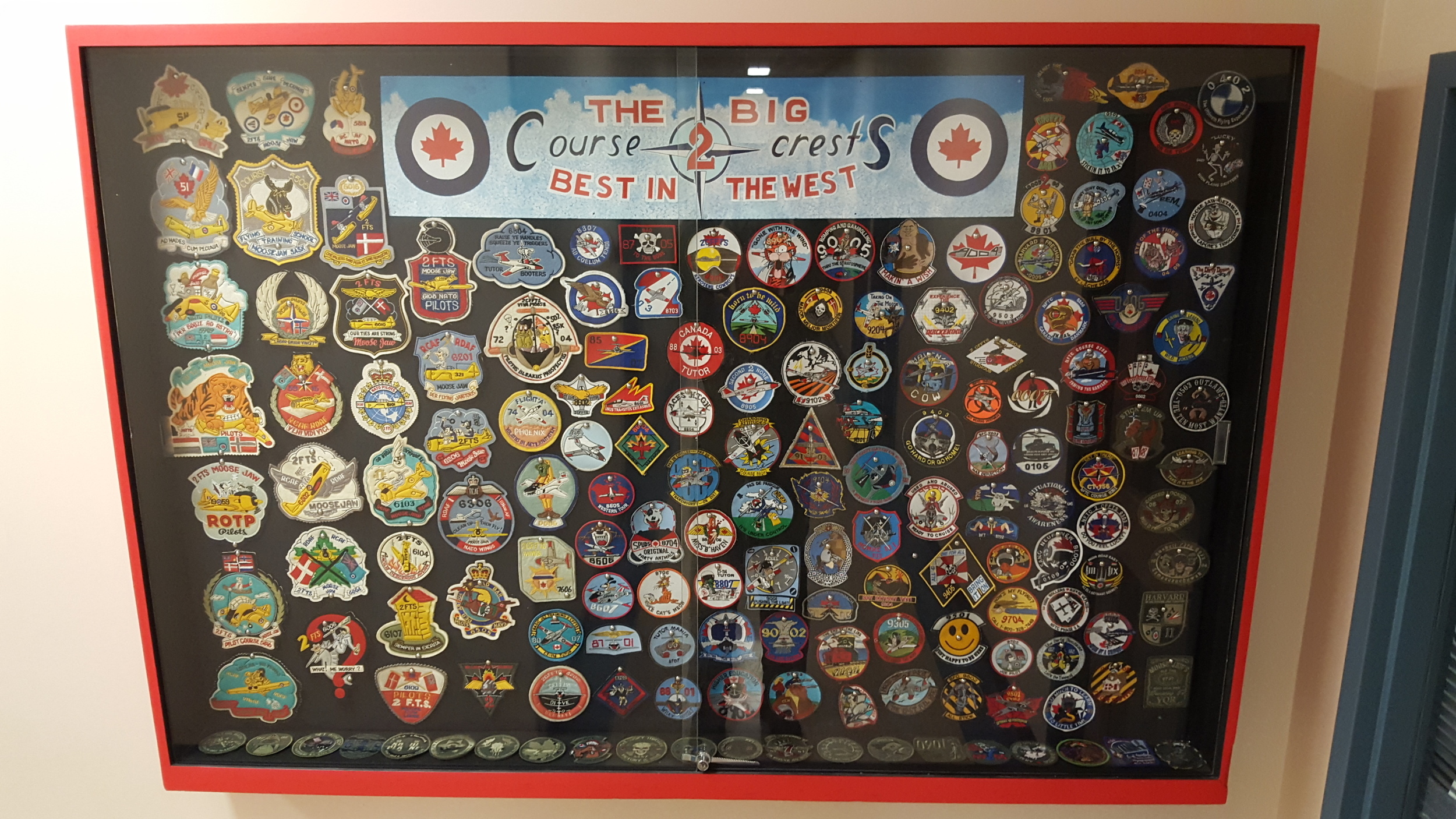 Course patches from past courses (going back decades!)