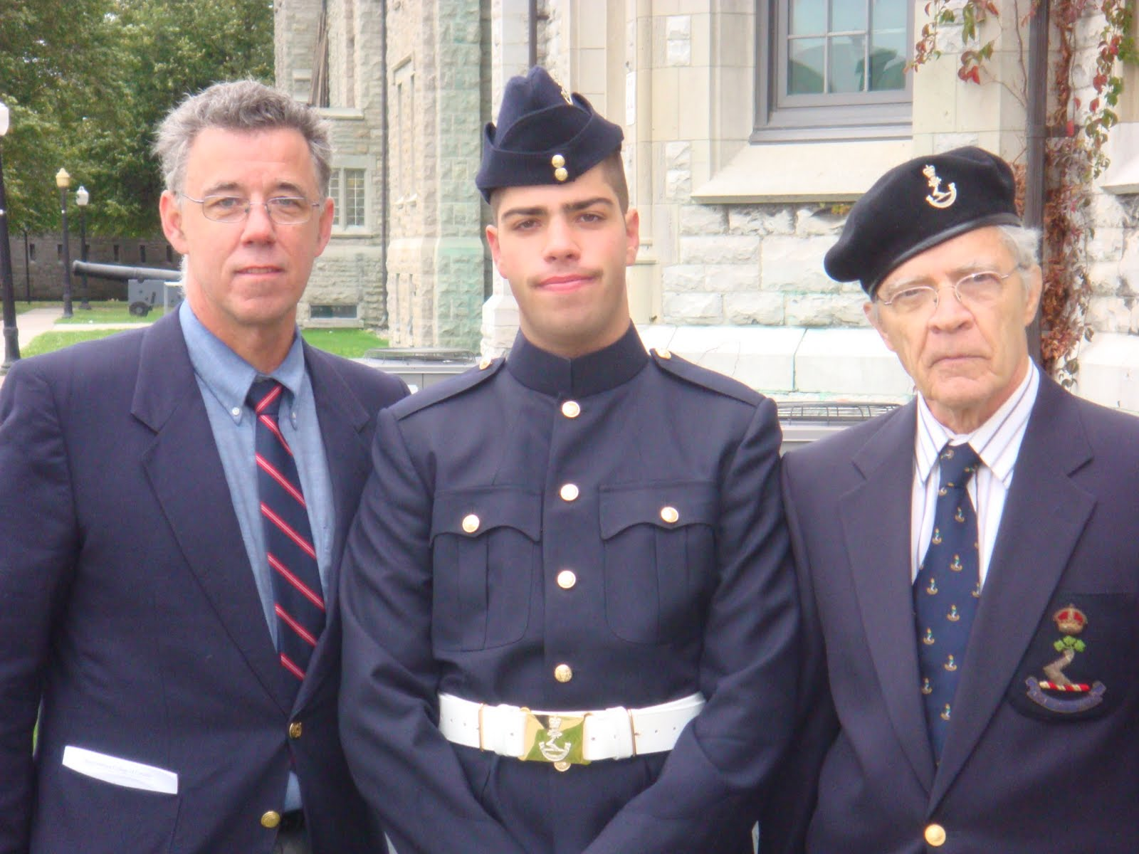 Me, my dad, and my grandfather
