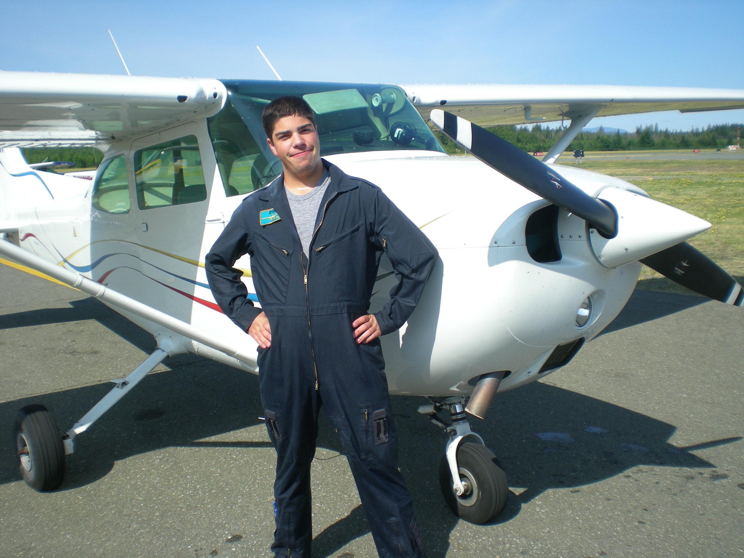 Cessna 172 GBAX-PPL scholarship.JPG