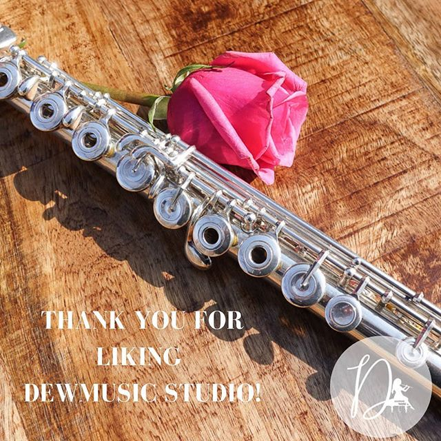 DewMusic Studio is so grateful for 50 followers! Can't wait to share music with you! 🎶🎼🎧🎵🎹🎤 . . . . . . . . . . . .  #mondaymotivation #flute #music #piano #voice #marchingband #musicteacher #musicstudents #musicians #classicalmusic #piccolo #flautist #flutist #fluteplayer #orchestra #woodwind #instrument #musically #flutelife #fl #woodwinds #band