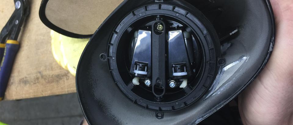 Power mirrors motor