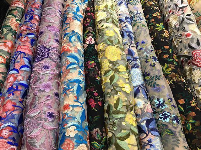 Ebad Fabrics Floral Laces #ebad #fabrics #ebadfabrics #fabric #lace #stretch #spandex #nyc #fabricstore #designer #design #fashion #fashionblogger #fashionista #dress #prom #prom2k17 #prom2017 #promdress #dress #stunning #beautiful #floral #summer #style #sew #luxury #colorful #new #flowers #flower