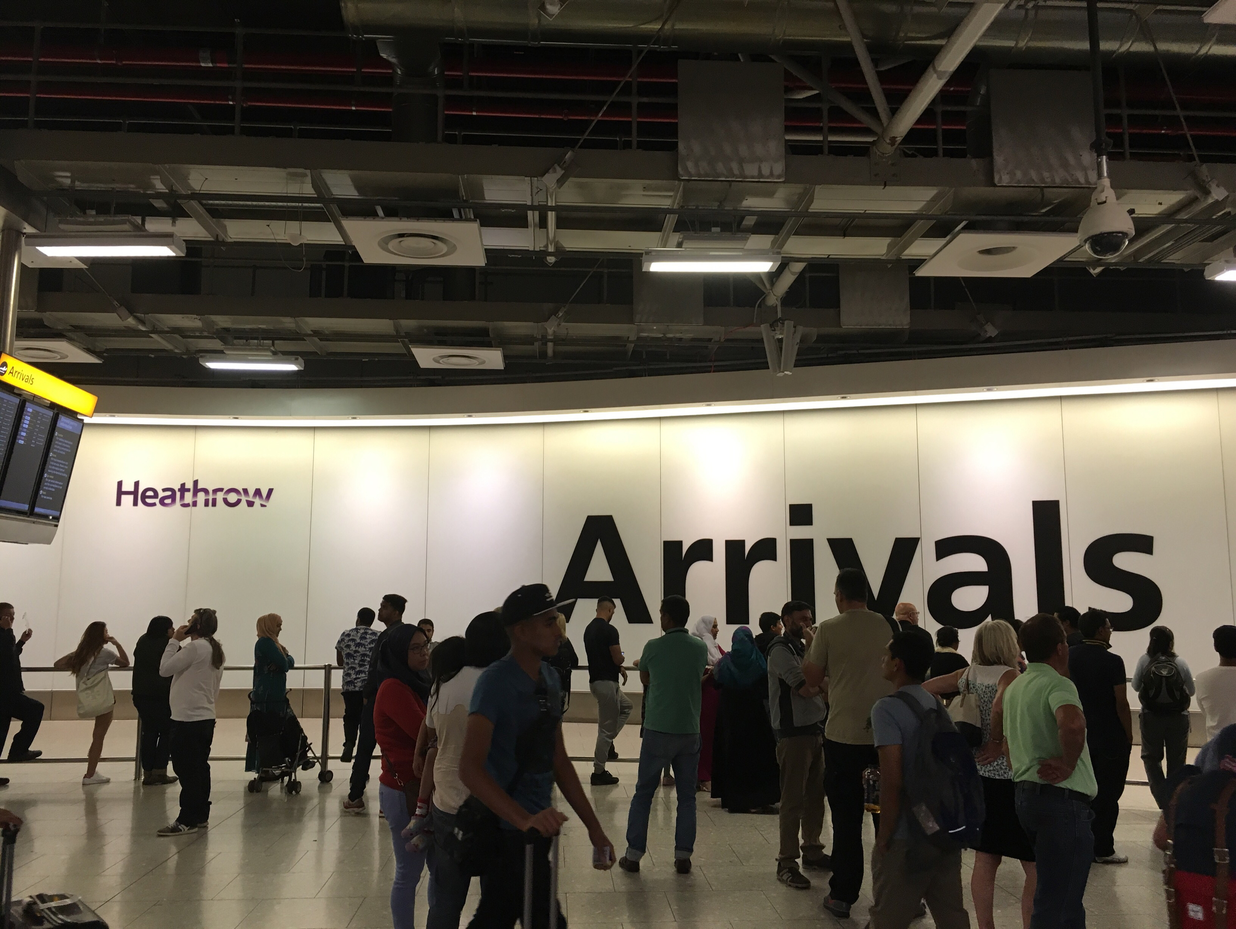 Arrival Section of Heathrow Airport