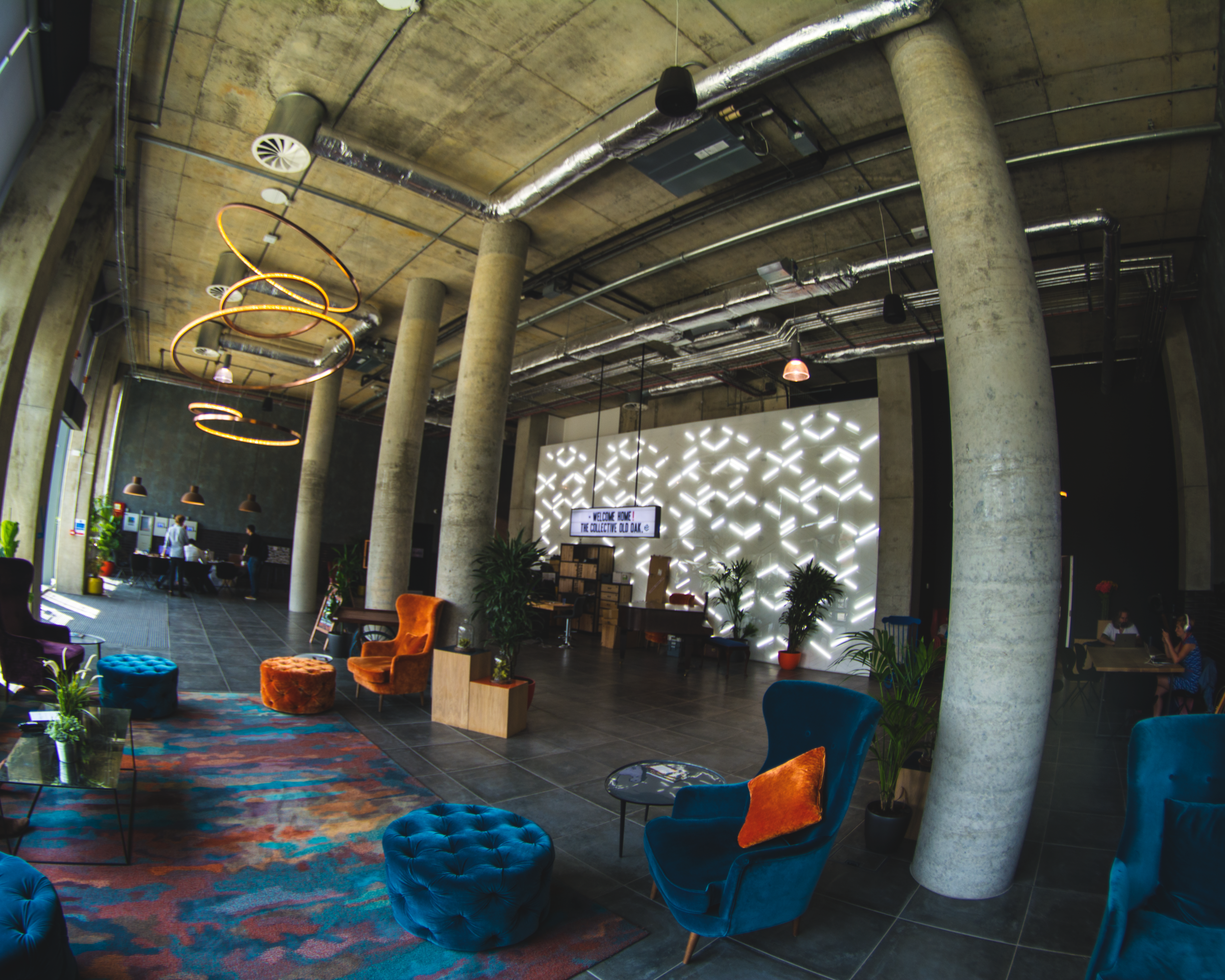 The Lobby of The Collective